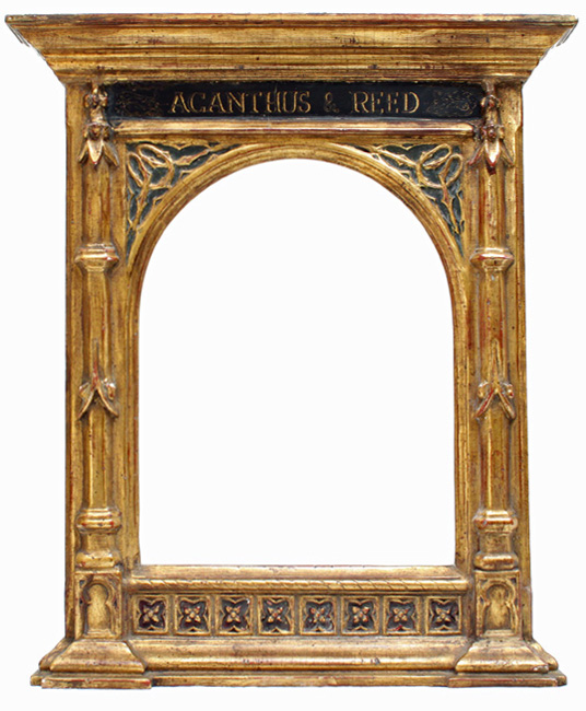 Architecture and the picture frame